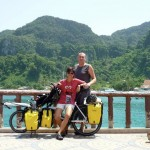 Thailand Honeymoon on a Bicycle Built for Two