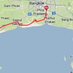 Escape Bangkok to Phetchaburi – Bicycle Touring Route