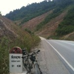 450km Huayxai – Luang Prabang – Udomchai – Luang Namtha – Huayxai Laos Bicycle Touring Route