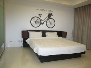 Bike studio room with King size bed