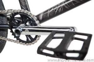 Crankset and pedalwtmk