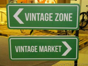 Vintage Zone sign