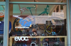 MOJO Bikes Chiang Mai front window