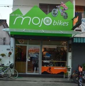 MOJO Bikes Chiang Mai shopfront