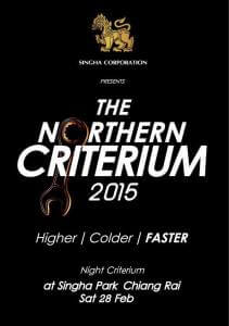 The Northern Criterium 2015 poster 2