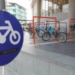 Bicycle Parking at Seacon Bangkae in Bangkok