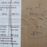 How to figure import duty and VAT on mail order bicycle parts