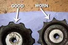 Worn jockey wheels imagewtmk