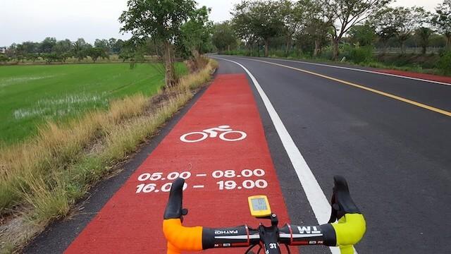 Bungchawak bicycle lane