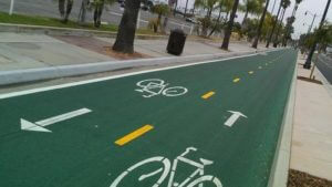 bicycle lane two directions