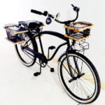 Utility Transport Lifestyle Bicycle with Kustom Double Rear Baskets