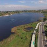 Bicycle Path at Lam Phra Phloeng Reservoir in Nakhon Ratchasima