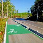 Bicycle Lane Completed at Ratchaprapa Dam