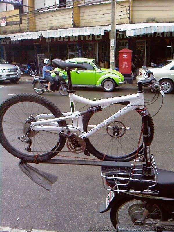How to Build a Motorbike Bicycle Rack - Bicycle Thailand