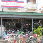 Klang Jakrayan Bicycle Shop in Lamphun
