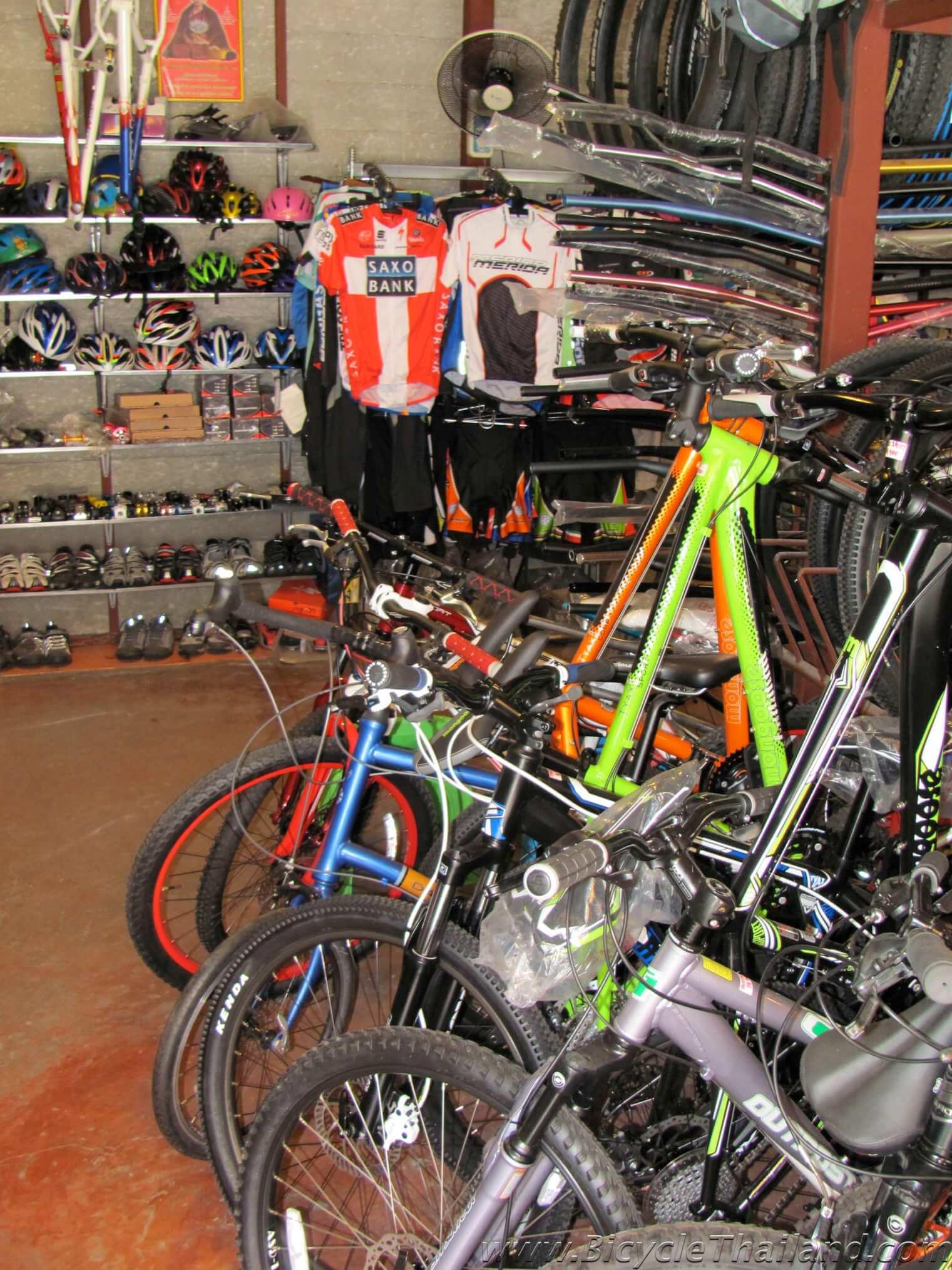 Fat Free Bike Shop In Chiang Rai Bicycle Thailand