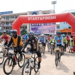 100 Cyclists Pedal for Environment in 'Midnight Bike' Event