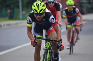Goh Choon Huat of OCBC Singapore Cycling Team