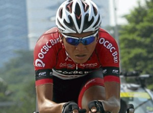 Loh Sea Keong of OCBC Singapore Pro Cycling Team