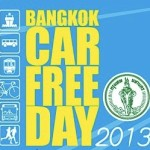 Bangkok Car Free Day 2013