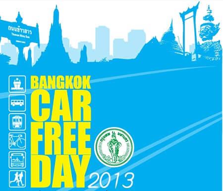 bangkokcarfreeday2013