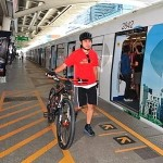 Cyclists can ride the Skytrain for FREE on 21-22 September 2013