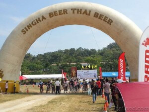 Hua Hin Cycling Classic 2013 MTB start line