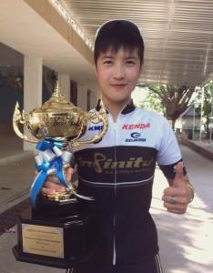 1st place Women – K. Pear of Team INFINITE Singha