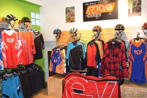 MOJO Bikes Chiang Mai clothing and helmets
