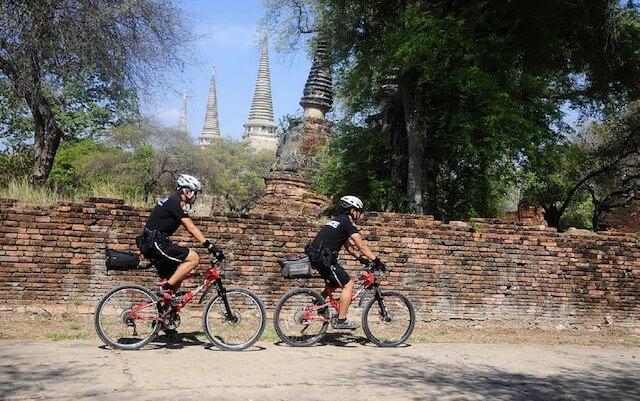 Ayutthaya Police Bike Patrol1