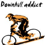 Downhill MTB image for ride maps page