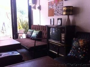 Good Mook Cafe front living room