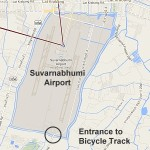 Cycle Track Around Suvarnabhumi Airport