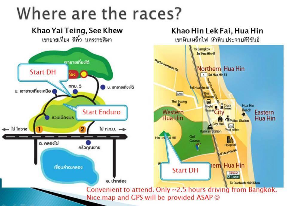 Sept Enduro Mojo Santa Cruz Bike parks locations map