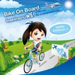 Bangkok Airways Launches Bike On Board Campaign