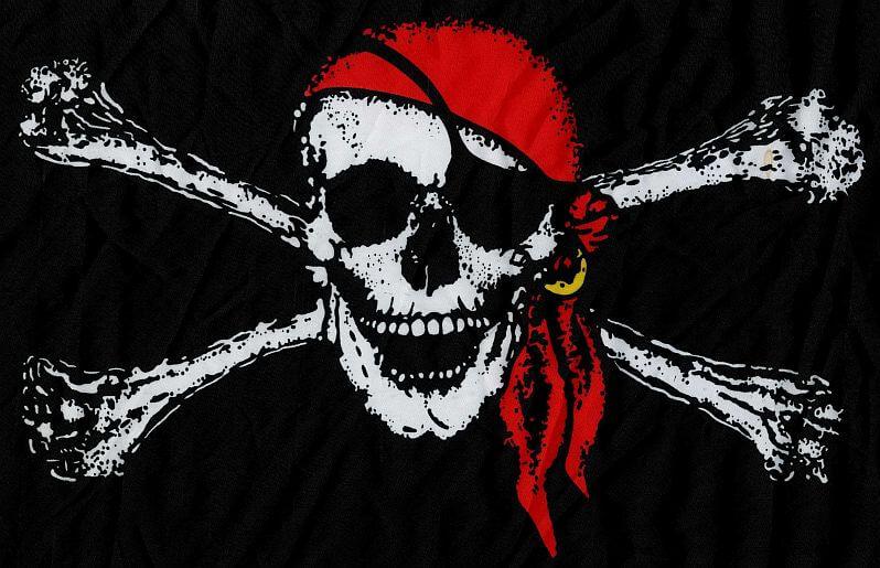 Pirate Skull Flag
