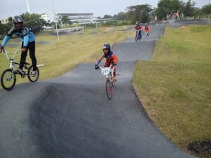 Sa Akeo Pump Track young riders