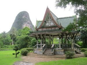 Sala in Somdech Phra Srinagarindra Park Phang Nga