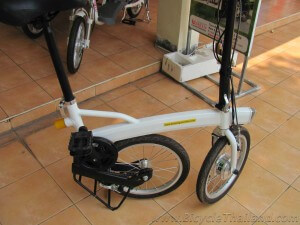 small wheeled electric bicycle
