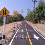 20 Million Baht Bicycle Route Project in Chiang Mai