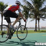 Farewell Ride for Airport's Green Cycle Track