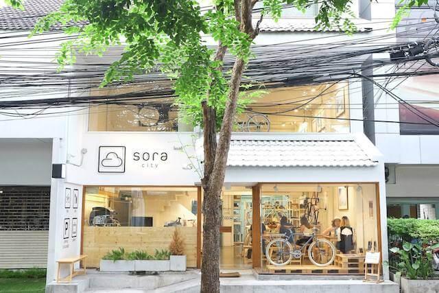 SORA CIty frontage