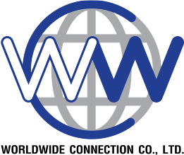 Worldwide connection logo