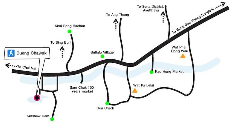 Bungchawak map