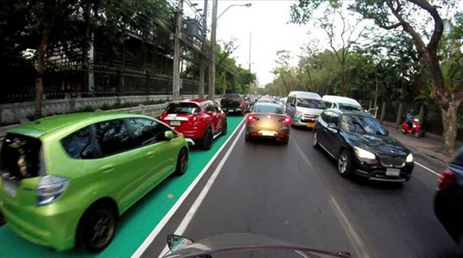 Chatuchak Bike Lane 1