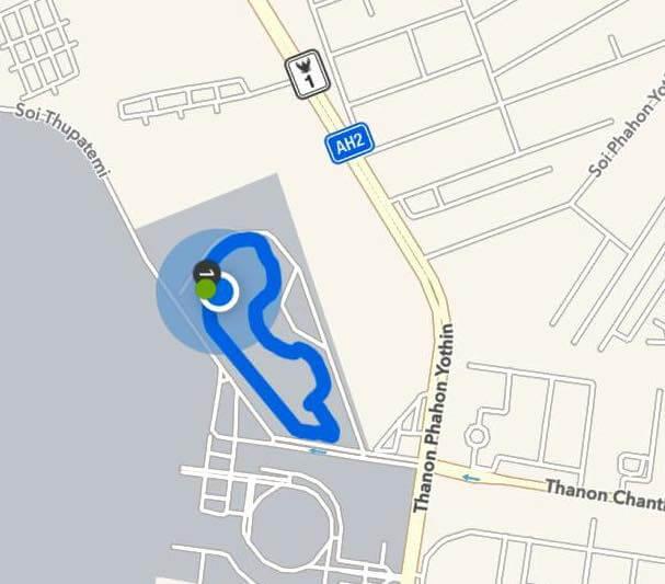 Park 1 track