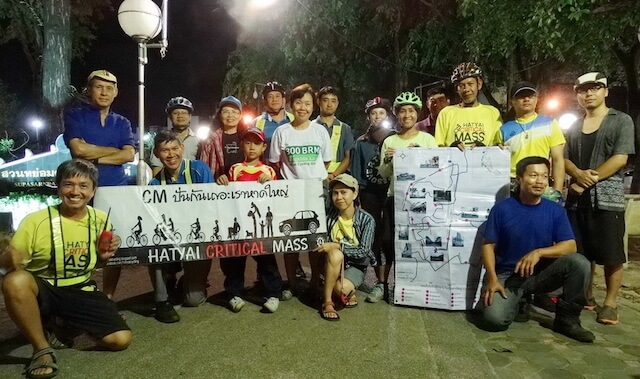 Hat Yai critical mass group photo 2