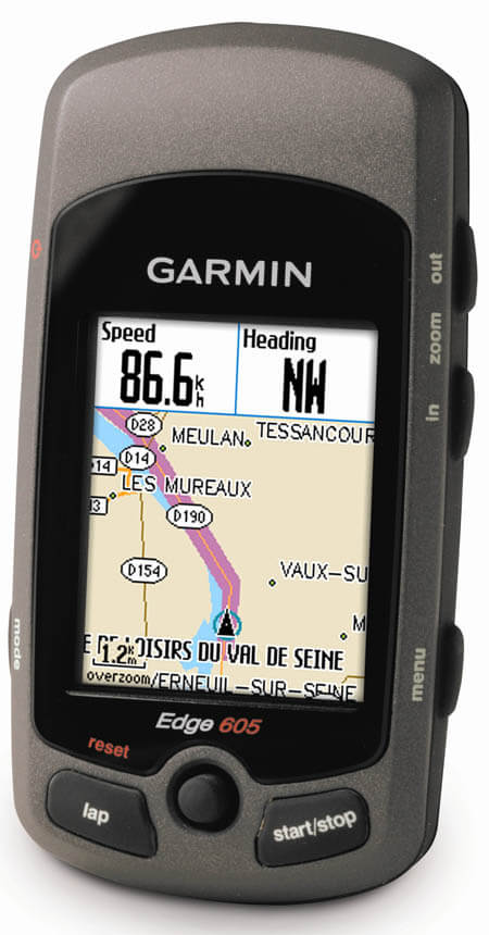 Garmin gps with routes