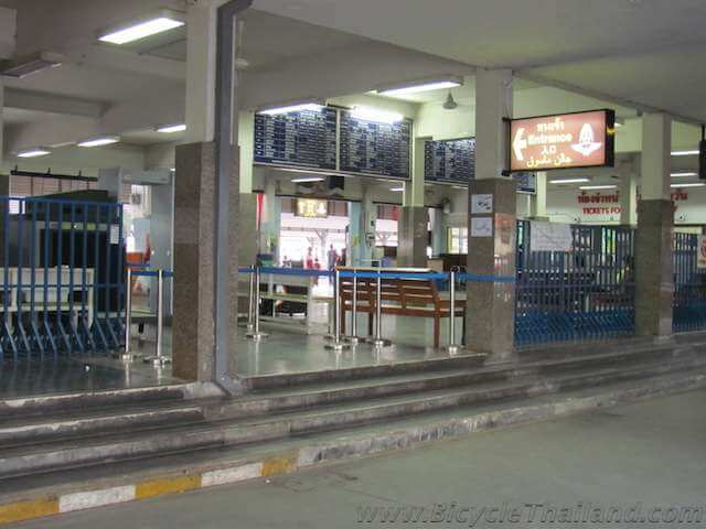 Hat Yai train station entrance
