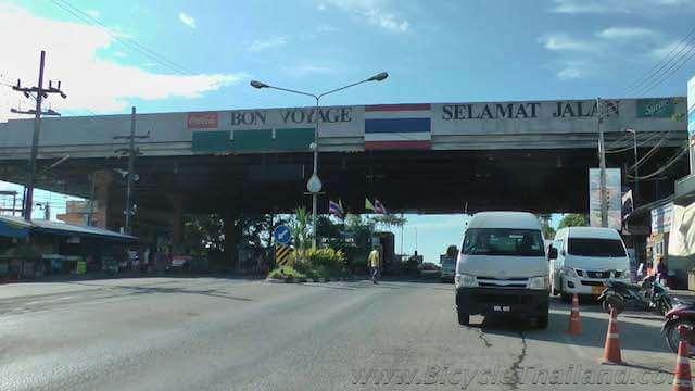 Sadao side of Thailand Malaysia border.